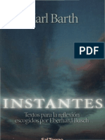 BARTH Karl - Instantes