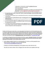 Project1 Instructions Statistics