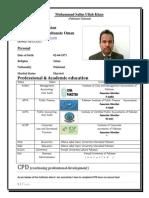 CV M.salim Ullah Khan - Copy