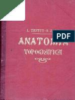 Anatomía Topográfica - Testut, Jacob