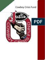 justin cowboy crisis fund long