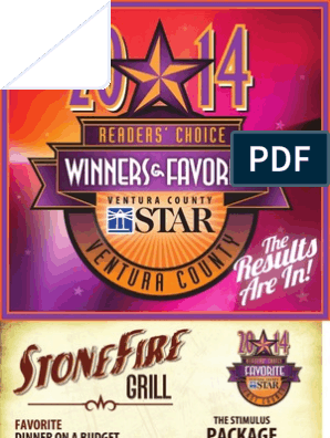 Ventura County Star's Reader's Choice 2014 - Winners and