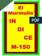 Indice El Murmullo (4-9-20)