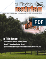 Central Florida Equestrian magazine November 09