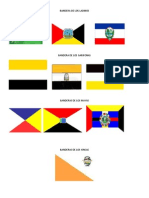 Bandera Delos 4 Pueblos de Guate