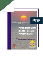 Valdivia, Sergio - Programacion Mental Para La Prosperidad