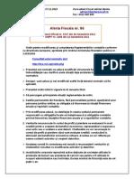 AL 86 Modificare Reglementari Contabile