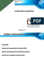5 Analise Multivariada Na Agricultura