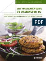 Vegetarian guide to Washington, DC 2014