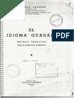 El idioma guaraní - Eduardo Saguier.pdf