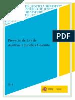 Proyecto de Ley de Asistencia Juridica Gratuita