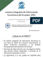 Sistema Integrado De Información Económica Del Ecuador