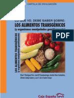 Los Alimentos Transgenicos