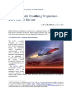 High Speed Air Breathing Propulsion_2011 Year in Review
