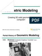 Lecture 3 Geometric Modeling