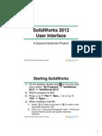 Lecture 2 SolidWorks Intro