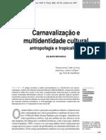 Carnavalização e Multidentidade Cultural