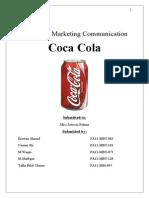 IMC of coca Cola