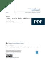 Coffee Culture in Dublin- A Brief History