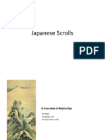 japanese scroll presentation