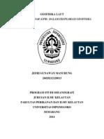 EKSPLORASI GEORADAR UNIVERSITAS DIPONEGORO-OSEANOGRAFI