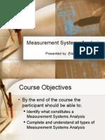 MSA Sample Presentation