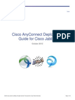 Cisco AnyConnect Deployment