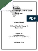 Biology Teachers Guide