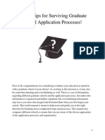 engl 3307 graduate school application processes