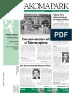 Takoma Park Newsletter - May 2014
