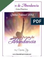Actos Abundancia 2