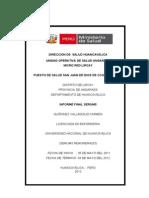 Informe Serums Mayo 2012