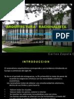 Racionalismo - Carlos Zapata