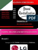 Brand Revitalization Strategies for LG Mobiles & RC Cola in Pakistan