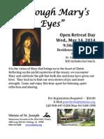May 14 - Open Retreat