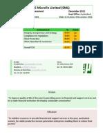 COCA Report-Share Microfin Limited