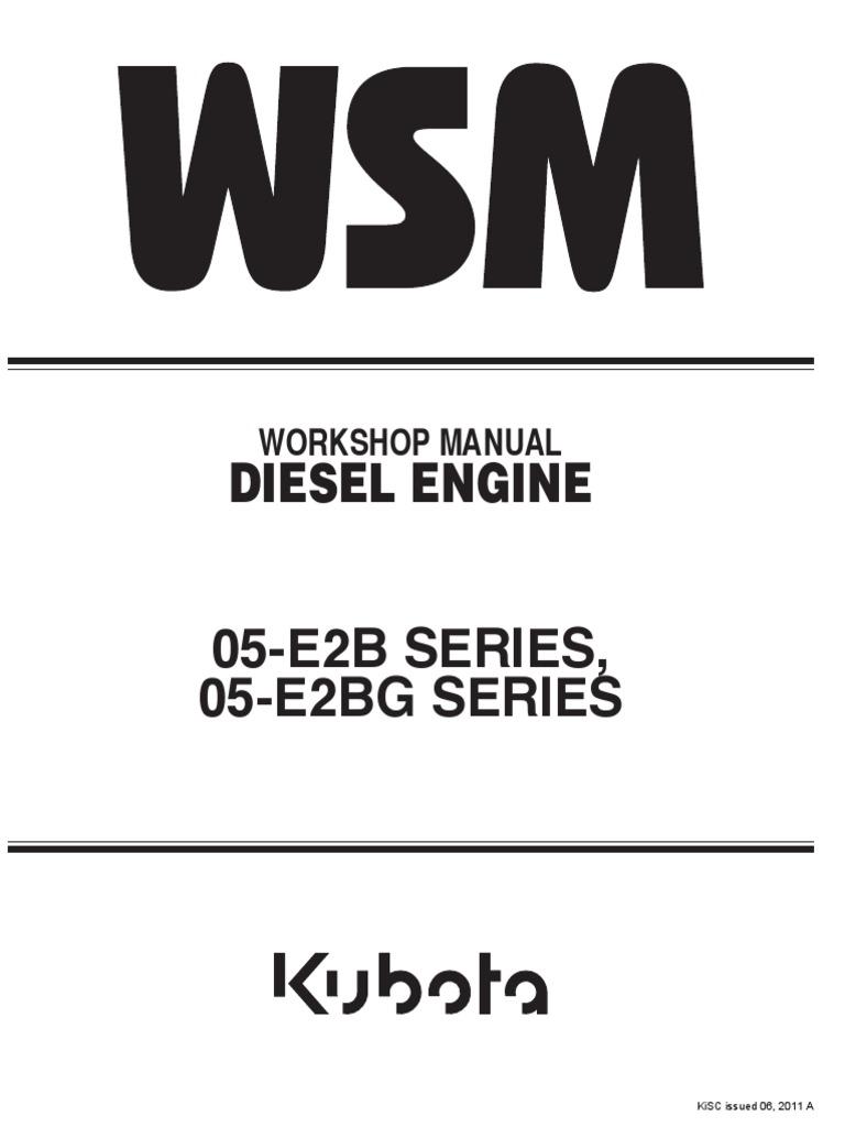 kubota workshop manual battery electricity diesel engine rh scribd com