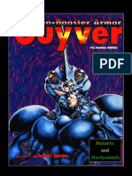 Mutants & Masterminds - Guyver Armors