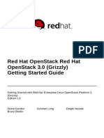 Red Hat OpenStack 3 Getting Started Guide en US
