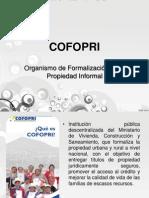 COFOPRI - Ejercicio Profesional