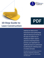 10 Step Guide to Lean Construction