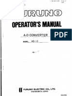 AD10 Operators Manual