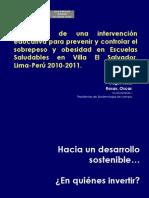10 Escuelas Saludables Red Salud MINSA VES