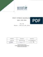 RLC Heat Stress Guidelines