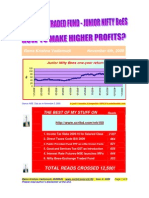 JUNIOR NIFTY BeES-how to Make Higher Profits-VRK100-06112009