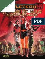 BattleTech a Time of War Quick-Start Rules
