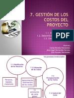 Capitulo 7 Gestión de los costos del proyecto.pptx