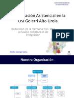 Proyecto Integración Asistencial