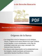 Prresentación Derecho Bancario