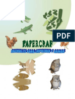 Papercraft, Animales Para Recortar y Montar-n.n